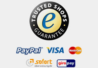 Zahlungsmittel in unserem Trusted Shop